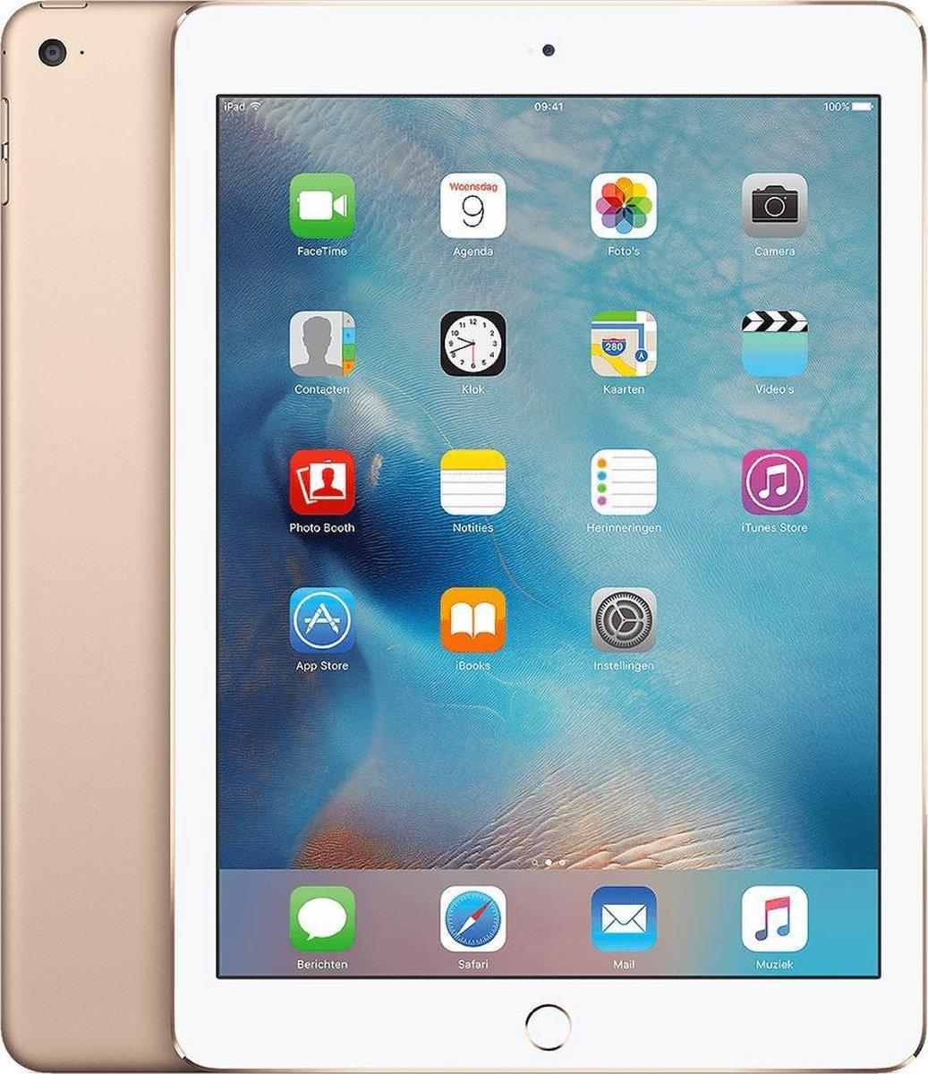Apple iPad Air 2 refurbished door Forza - A-Grade (Zo goed als nieuw) - 64GB - Cellular (4G) - Goud