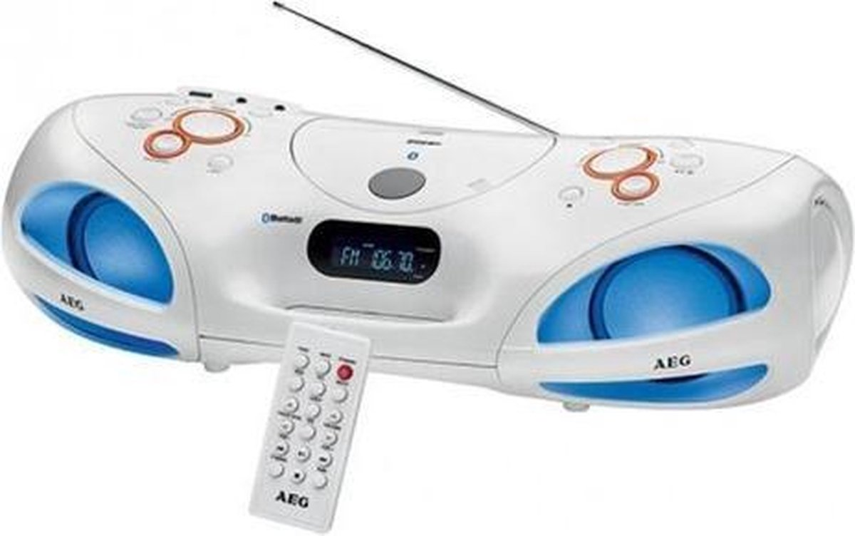 AEG Stereoradio - Wit