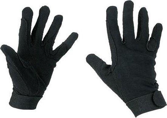 Kerbl Rijhandschoen Katoen Jersey Zwart L