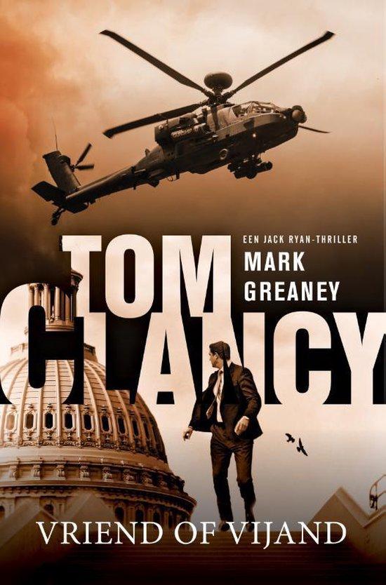Boek cover geen  -   Tom Clancy: Vriend of vijand van Mark Greaney (Paperback)