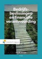 Bedrijfsbeslissingen en financiële verantwoording (4e editie)