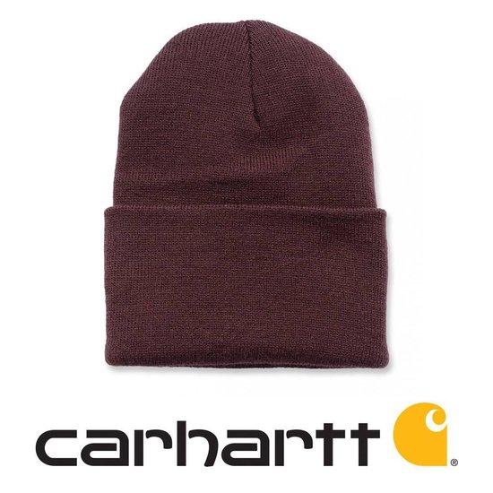 Carhartt Wach Hat Muts - Beanie - Deep Wine - Carhartt