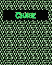 120 Page Handwriting Practice Book with Green Alien Cover Chase