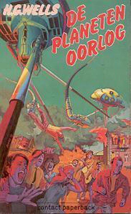 Planetenoorlog - H.G. Wells  