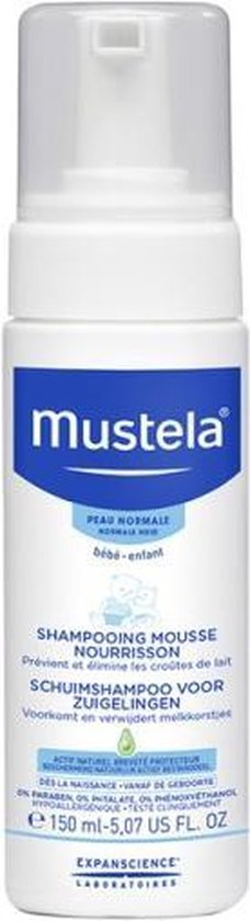 Mustela Baby Schuimshampoo - 150 ml
