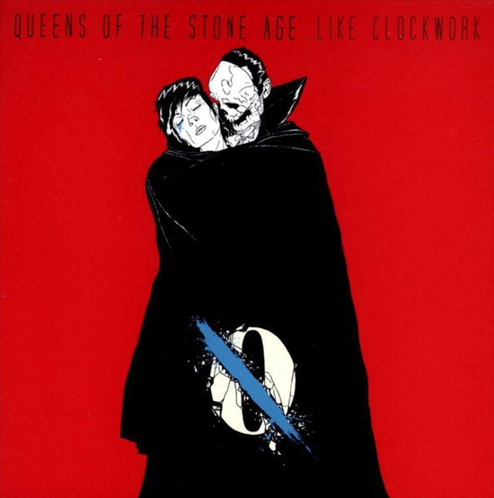CD cover van Like Clockwork van Queens Of The Stone Age