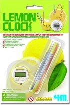4m Kidzlabs science: citroen klok
