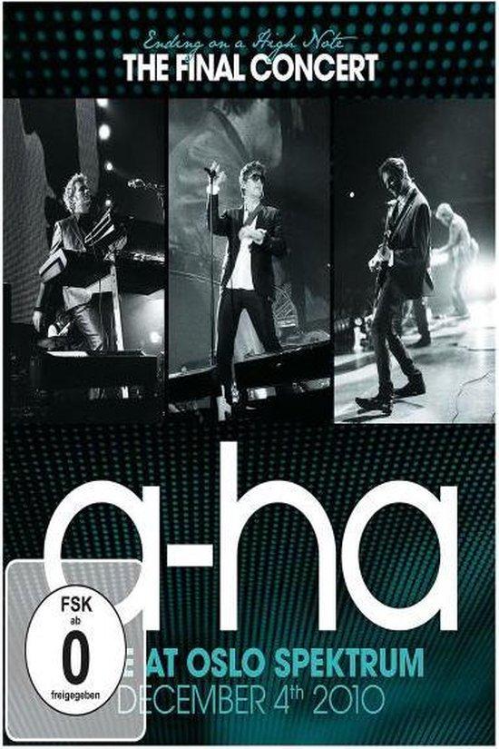 Cover van de film 'A-Ha - Ending On A High Note'
