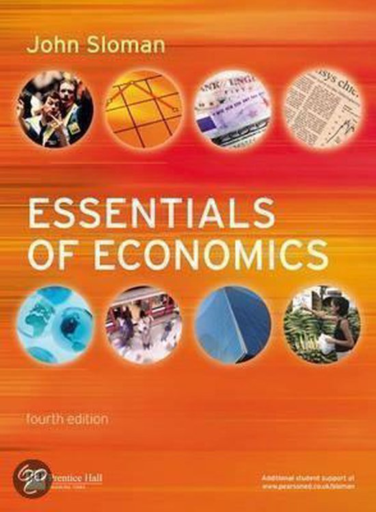 Boek cover Essentials of Economics van Stanley Brue (Onbekend)