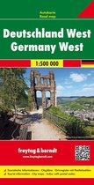 Germany West Road Map 1