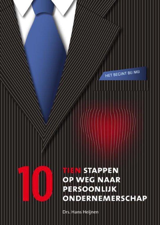 Cover van het boek '10 stappen op weg naar persoonlijk ondernemerschap' van Hans Heijnen