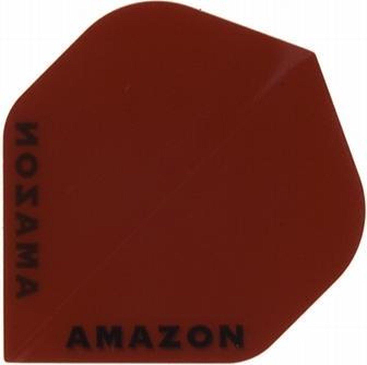 5 sets (15 stuks) Ruthless flights Amazon Transparant Std Red