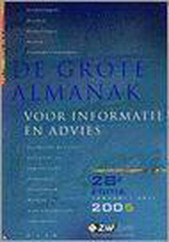 GROTE ALMANAK VOOR INFORMATIE EN ADVIES - Onbekend |