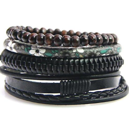Set van 3 armbanden Donkergroen HEREN | H&M NL