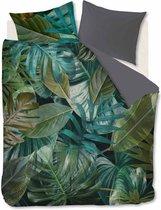 Beddinghouse Botanico - Dekbedovertrek - Eenpersoons - 140x200/220 cm + 1 kussensloop 60x70 cm - Green
