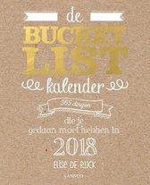 De bucketlist scheurkalender 2018