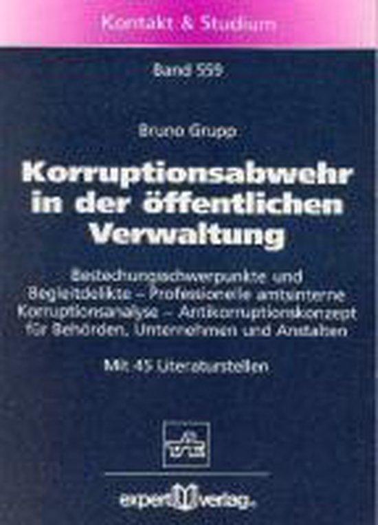 Korruptionsabwehr in der öffentlichen Verwaltung