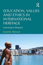 Omslag Education, Values and Ethics in International Heritage