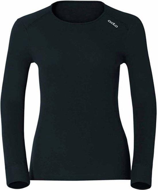 Odlo Shirt L/S Crew Neck Active Originals Warm Thermoshirt Dames - Black