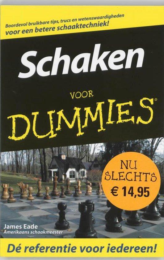 Schaken Voor Dummies - James Eade |