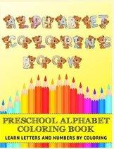 Alphabet Coloring Book for Preschool