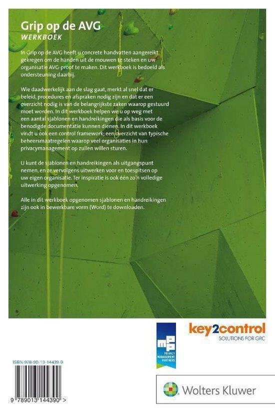 Grip op de AVG Werkboek - Privacy Management Partners