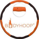 Bodyhoop� - Fitness Hoelahoep - 1.8 kg - � 104 cm - Oranje/Zwart