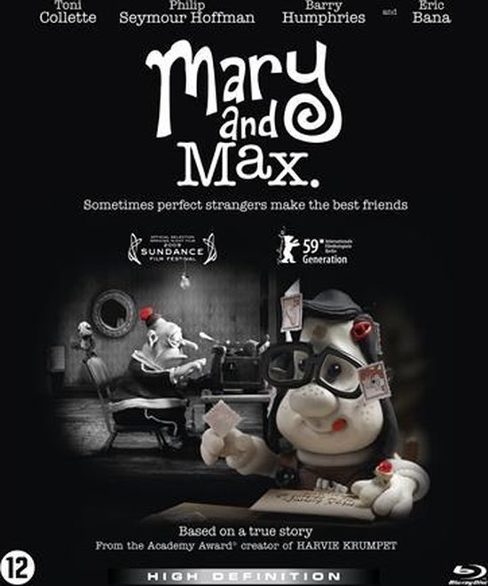 Bol Com Mary And Max Blu Ray Blu Ray Dvd S