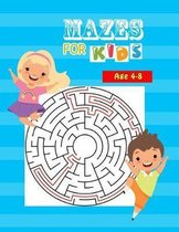 Mazes for Kids Age 4-8