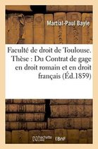 Facult� de Droit de Toulouse. Th�se