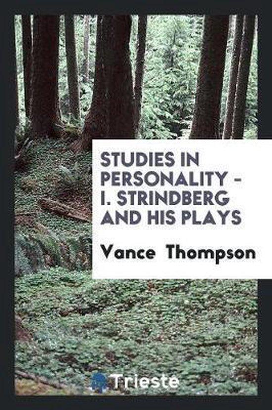 Strindberg and His Plays