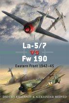 Boek cover La-5/7 vs Fw 190 van Dmitriy Khazanov