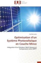Optimisation D Un Syst�me Photovolta�que En Couche Mince