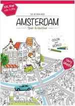 Very Mappy: XXL speel- en kleurplaat van Amsterdam