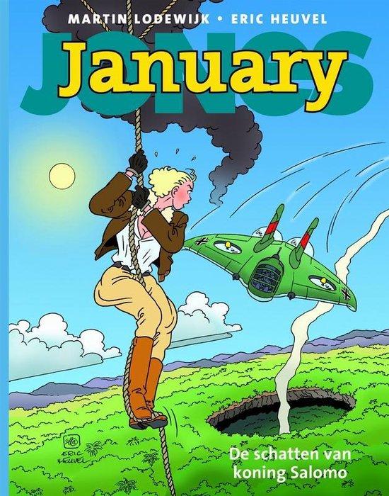 January jones 03. de schatten van koning salomo - Eric Heuvel  