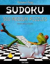 Famous Frog Sudoku 500 Medium Puzzles with Solutions