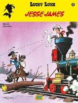 Boek cover Lucky luke 35. jesse james van Morris (Paperback)