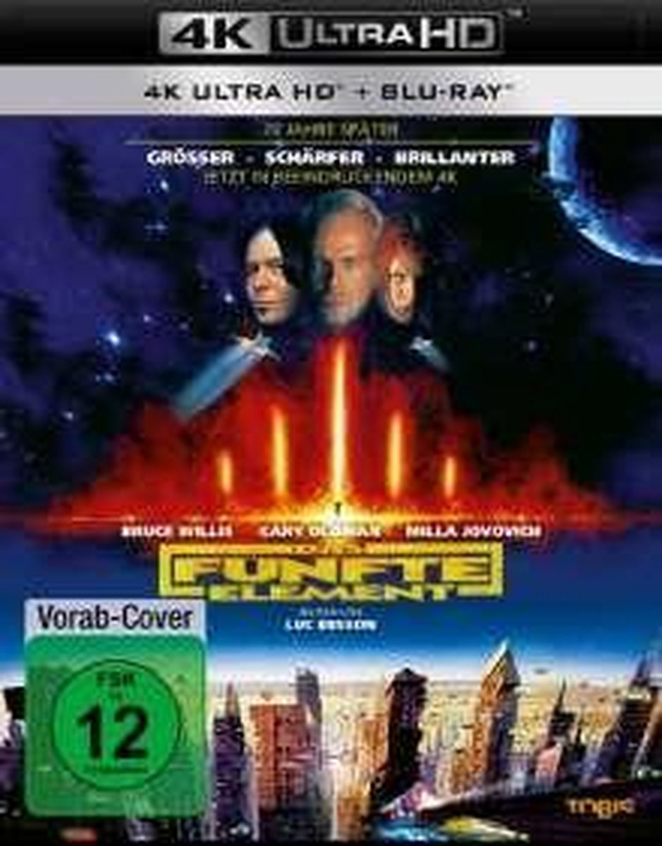 Das fünfte Element (Remastered 2017) UHD-