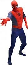 Morphsuits™ SpiderMan Value Morphsuit - SecondSkin - Verkleedkleding - 146/152 cm