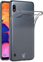 Samsung Galaxy A10 Hoesje - Transparant Siliconen TPU Soft Case - iCall