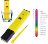 Digitale Elektrische PH Waarde Meter Tester - PH-Meter Voor Water / Zwembad / Aquarium / Grond / Vijver / Tuin