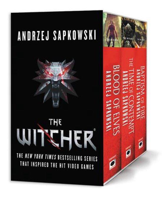Boek cover The Witcher Boxed Set van Andrzej Sapkowski (Paperback)