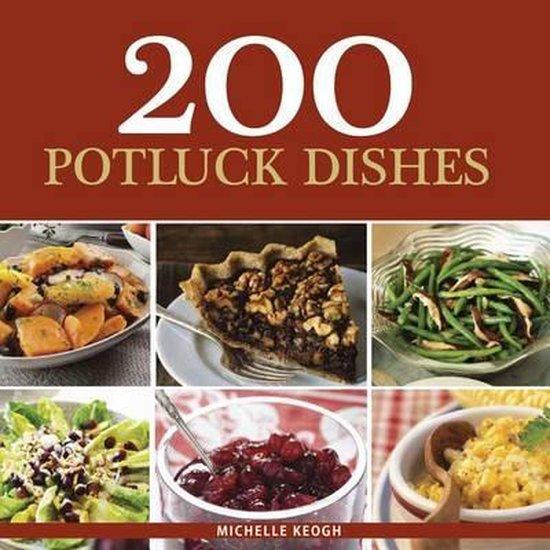 Boek cover 200 Potluck Dishes van Michelle Keogh (Paperback)