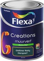 Flexa Creations Muurverf - Extra Mat - Oldtimer Rally - 1 liter