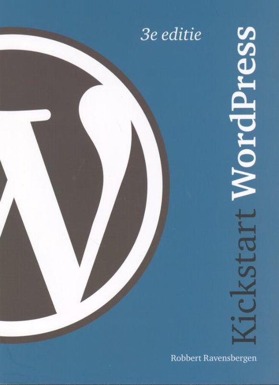 Kickstart wordpress - Robbert Ravensbergen pdf epub