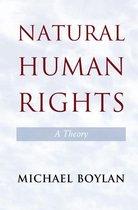 Boek cover Natural Human Rights van Michael Boylan