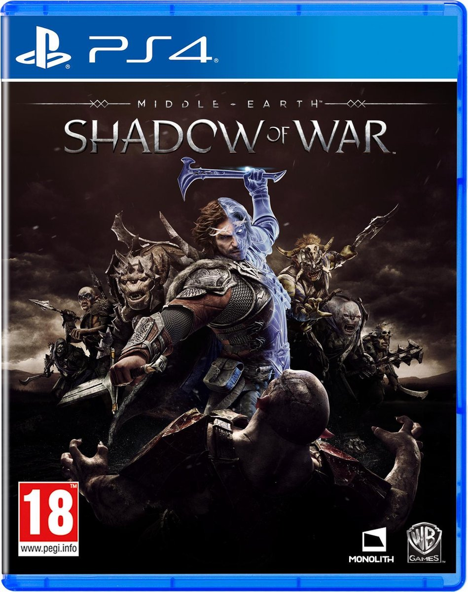 Middle-Earth: Shadow Of War - PS4 - Warner Bros. Entertainment