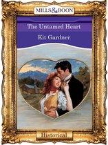 Omslag The Untamed Heart (Mills & Boon Vintage 90s Historical)
