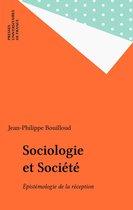 Sociologie et Société