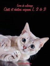 Livre de Coloriage Chats Et Chatons Mignons 1, 2 & 3